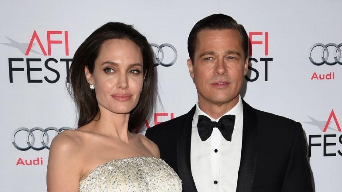 Brad Pitt e Angelina Jolie (Foto: Reprodução)