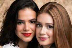 Bruna Marquezine e Marina Ruy Barbosa (Foto: Reprodução)