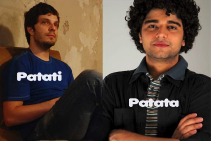 Patati Patat[a na vida real  (Foto: Divulgação)
