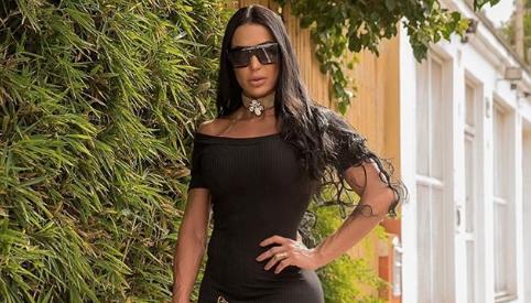 Gracyanne Barbosa voltou a compartilhar um clique ousado em suas redes sociais (Foto: Reprodução/Instagram)