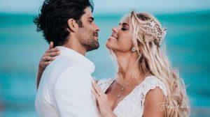 Caroline Bittencourt e Jorge Sestini (Foto: Reprodução/Instagram)