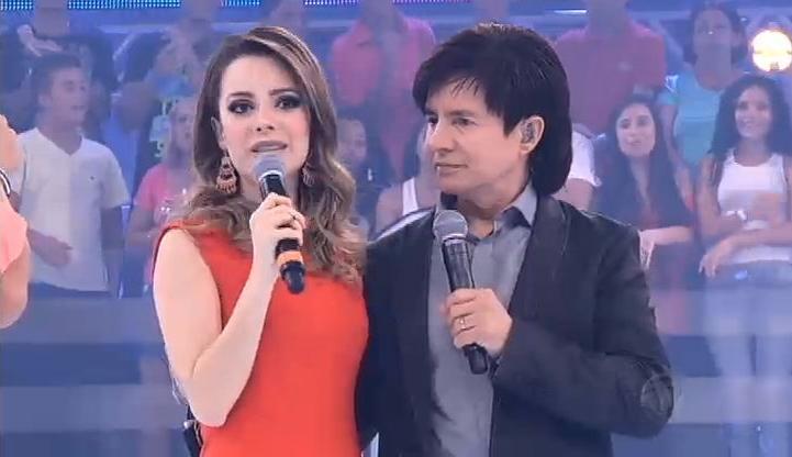 Sandy e Junior e o pai Chitãozinho e Xororó (Foto: Reprodução)