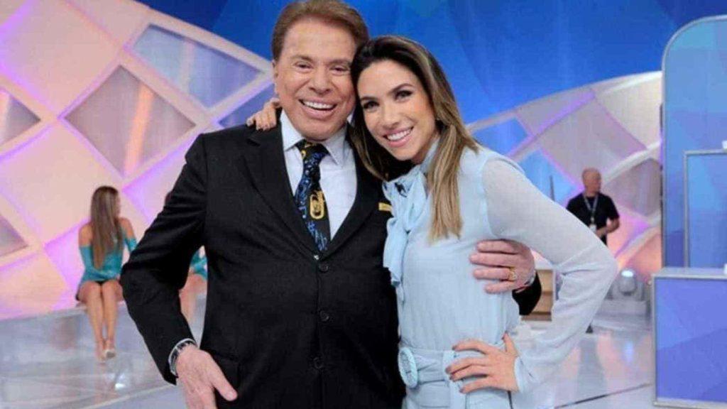Silvio Santos e Patrícia Abravanel (Foto: Divulgação)