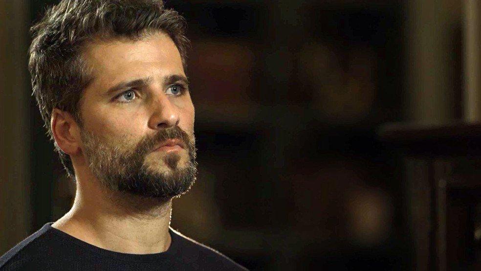 Gabriel (Bruno Gagliasso) é o protagonista de O Sétimo Guardião