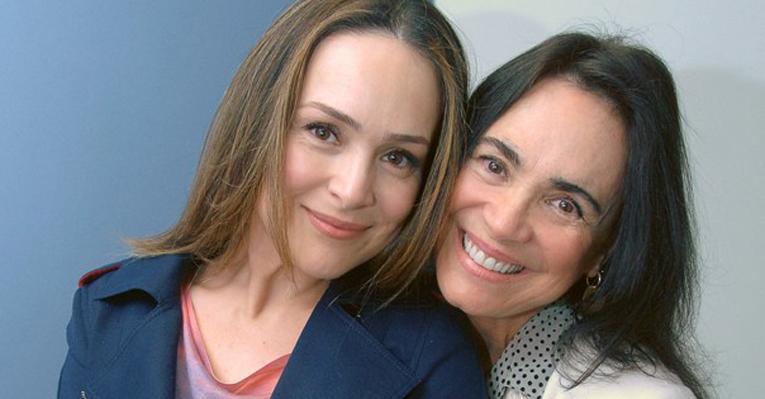 Gabriela Duarte e Regina Duarte (Foto: Reprodução)