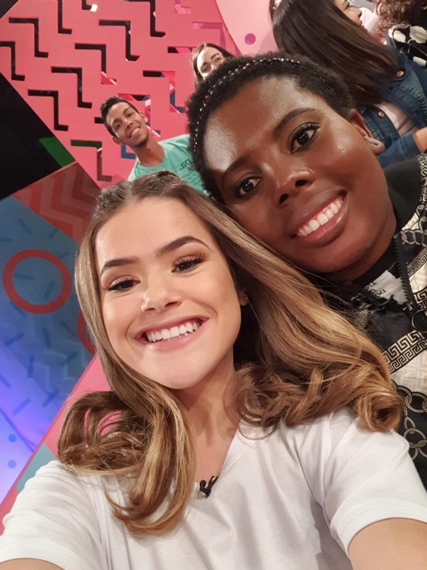 Maisa Silva e Aline Borel (Foto: Reprodução/Instagram)