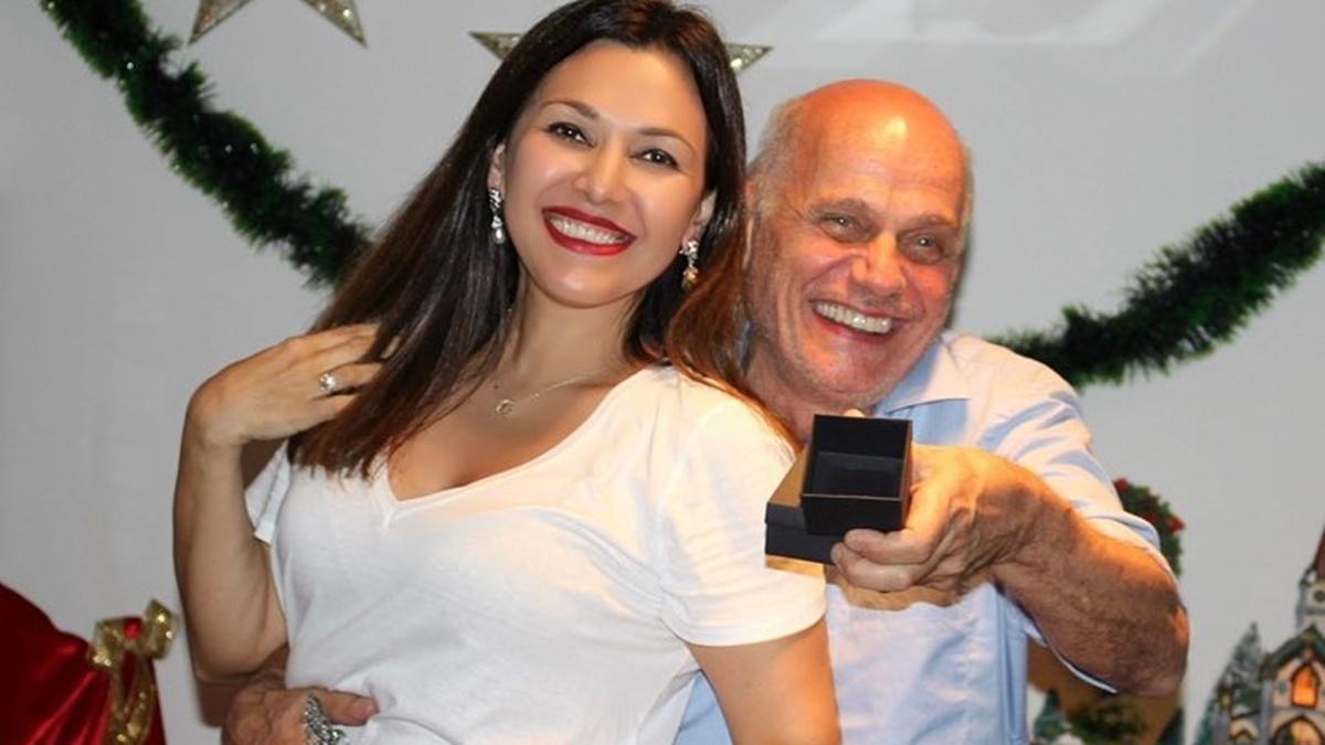 Veruska Boechat e Ricardo Boechat (Foto: Reprodução)
