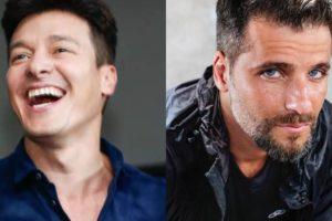 Rodrigo Faro e Bruno Gagliasso (Foto: Montagem/TV Foco)