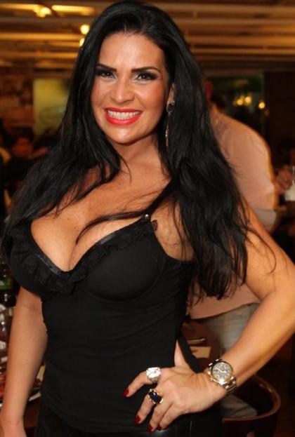 Apresentadora e modelo Solange Gomes (Foto: Reprodução)