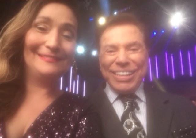 Sonia Abrao e Silvio Santos (Foto: Reprodução/Instagram)
