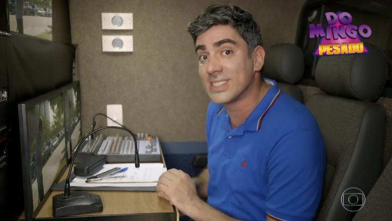 Marcelo Adnet no último episódio do Tá no Ar (Foto: Reprodução/Globo)