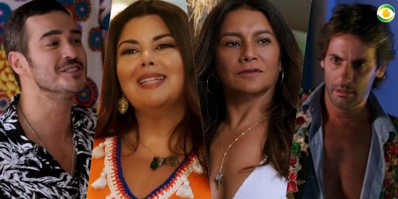 Alamo, Mada, Janaína e Raimundo vivem quadrado amoroso em Verão 90
