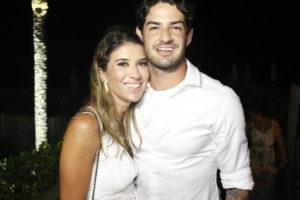 Rebeca Abravanel e Alexandre Pato se casaram (Foto: Divulgação)