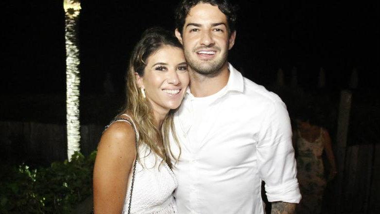 Rebeca Abravanel e Alexandre Pato (Foto: Divulgação)
