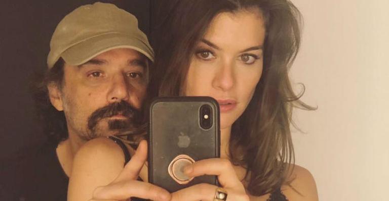 Alinne Moraes e o marido, Mauro Lima Foto: Reprodução/Instagram)