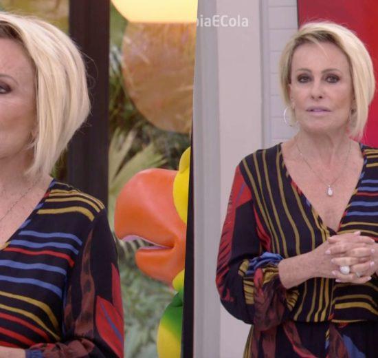 Ana Maria Braga durante o Mais Você na manhã desta terça-feira (23) na Globo