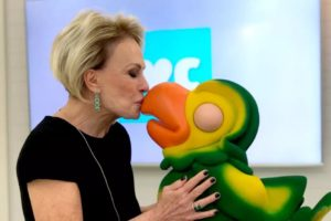 """Ana Maria Braga e Louro José no """"Mais Você"""", da Globo (Foto: Reprodução)"""