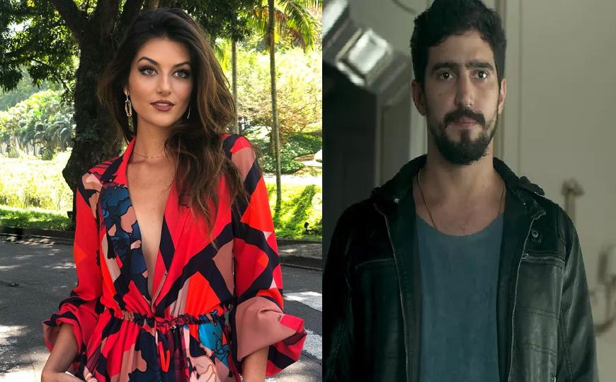 Camila e Jamil de Órfãos da Terra (Foto: Reprodução/ Globo/ Instagram)