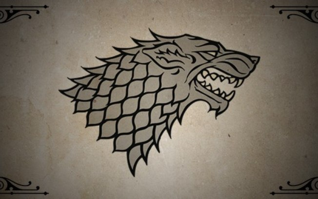 Brasão da Casa Stark (Foto: Reprodução)