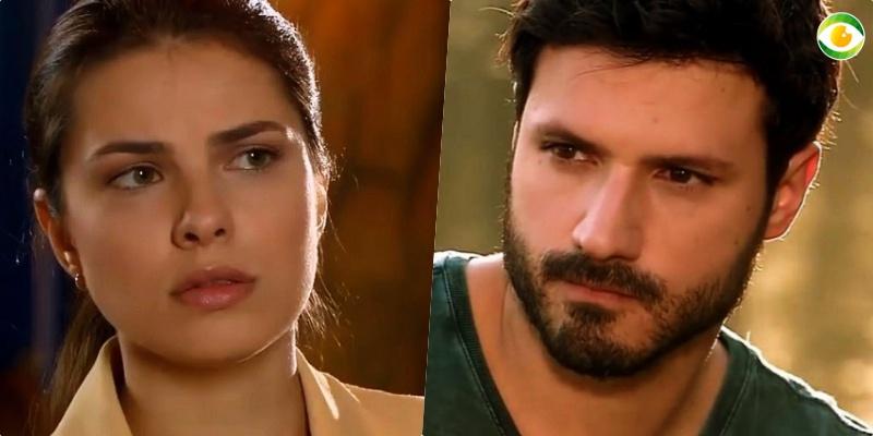 Marcelo (Murilo Cezar) e Luisa (Thaís Melchior) formam casal em As Aventuras de Poliana