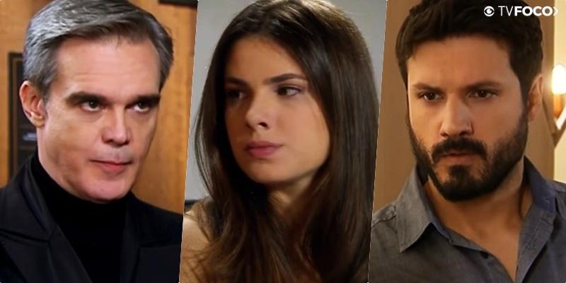 Pendleton (Dalton Vigh) atacará Marcelo (Murilo César) após declaração à Luísa (Thaís Melchior) em As Aventuras de Poliana