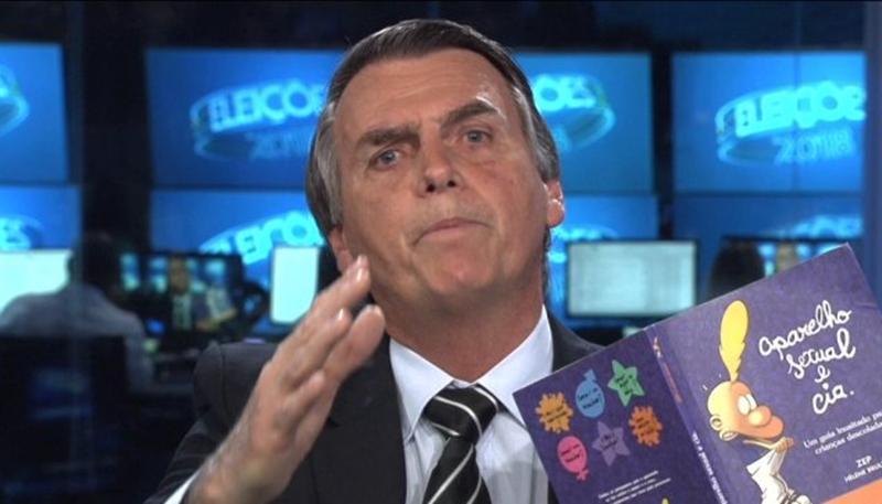 Jair Bolsonaro na Globo (Foto: Reprodução)