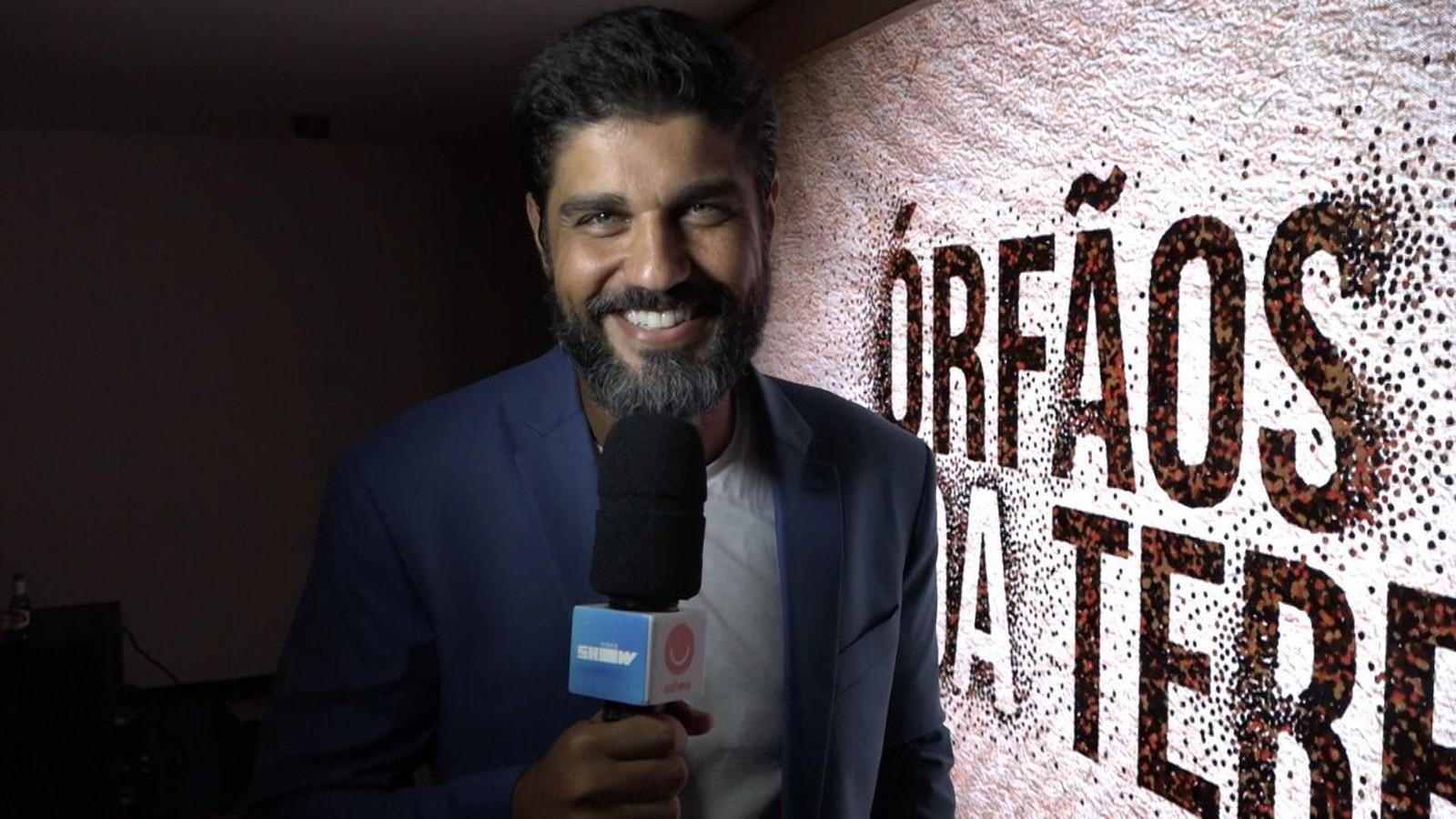 Bruno Cabrerizo foi repórter do Gshow