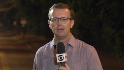 Repórter da Globo teve a sua família ameaçada (Foto: Reprodução)