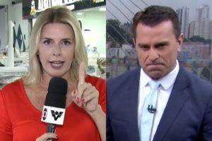 Jornalista ofereceu um namorado a Rodrigo Bocardi (Foto: Reprodução)Jornalista ofereceu um namorado a Rodrigo Bocardi (Foto: Reprodução)