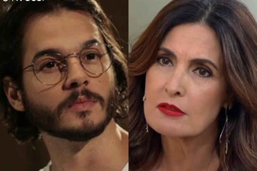 Fátima Bernardes e Túlio Gadelha (Foto: Reprodução)