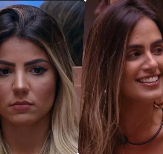 As ex-BBBs Carol Peixinho e Hariany (Reprodução)