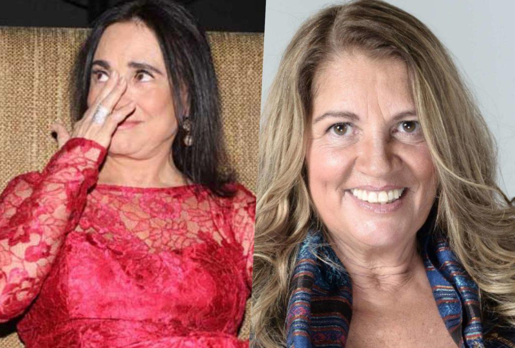 """Regina Duarte da Globo foi atacada por Tássia Camargo e teve """"podres"""" revelados (Foto reprodução)"""