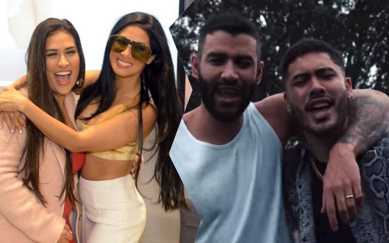 """Kevinho se junta com Gusttavo Lima e Carlinhos Maia e ataca Simone e Simaria: """"o embaixador"""" Foto: Reprodução"""
