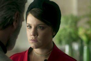 Dalila (Alice Wegmann) em cena da novela das 18h, Órfãos da Terra, da Globo