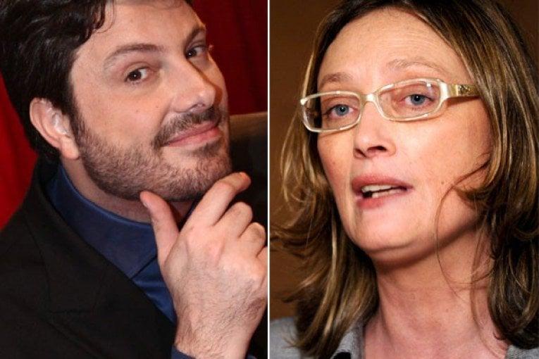 Danilo Gentili e Maria do Rosário (Foto: Reprodução)