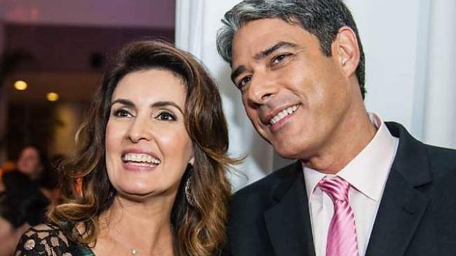Fátima Bernardes e William Bonner foram casados por 26 anos (Foto: Reprodução)