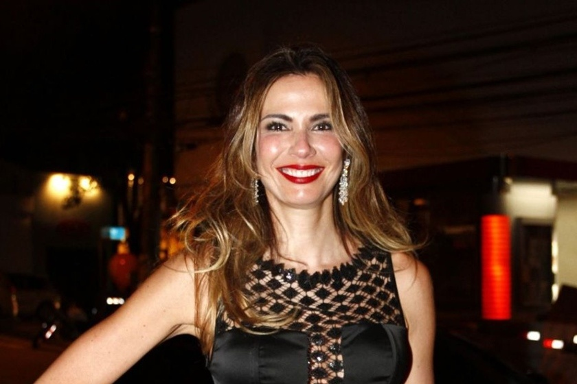 A apresentadora da RedeTV!, Luciana Gimenez (Foto: Divulgação)