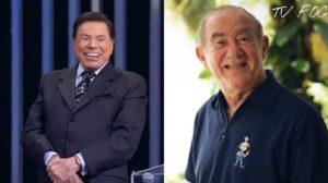 Didi da Globo e Silvio Santos do SBT