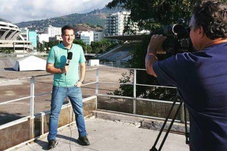Edson Viana é um dos jornalistas contratados da Globo (Foto: Divulgação)