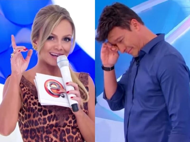 Eliana do SBT e Rodrigo Faro disputam audiência aos domingos. (Foto: Reprodução/Montagem)