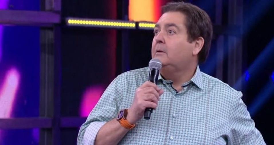 Faustão comanda o dominical na emissora carioca. (Foto: Reprodução)