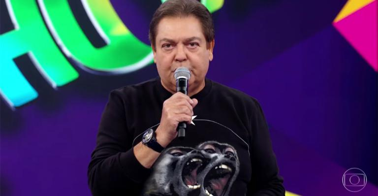 Faustão no comando do Domingão, que pode mudar de horário na Globo (Foto: Reprodução/Globo)