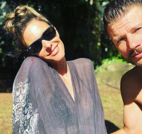 Rodrigo Hilbert e a esposa, Fernanda Lima (Foto: Reprodução)