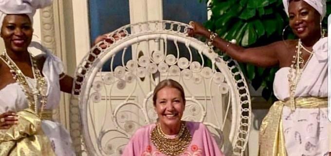 Comemoração dos 50 anos da mulher do publicitário Nizan Guanaes aconteceu em Salvador Foto:. Reprodução