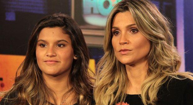 Flávia Alessandra e a filha, Giulia Costa (Foto: Reprodução)