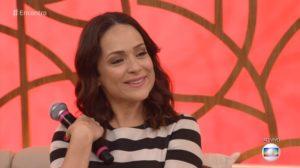 Gabriela Duarte participa do 'Encontro' e fala de loucuras por amo — (Foto: TV Globo)