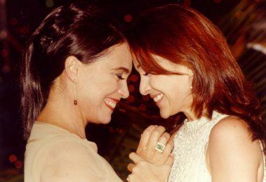 Regina Duarte (Helena) e Gabriela Duarte (Maria Eduarda) em Por Amor (Foto: Globo/Divulgação)