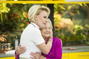 Ana Maria Braga e Palmirinha no Mais Você (Foto: Globo/João Cotta)