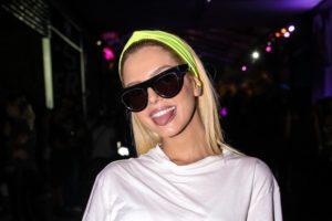 Giovanna Lancellotti no Lollapalooza (Foto: AgNews/Thiago Duran e Leo Franco)