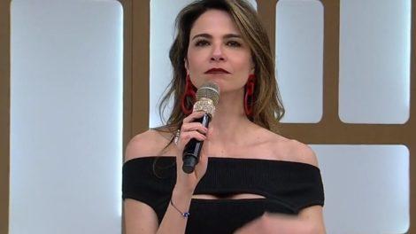 Palco do SuperPop, apresentado por Luciana Gimenez recebeu visita de espírito. (Foto: Reprodução)